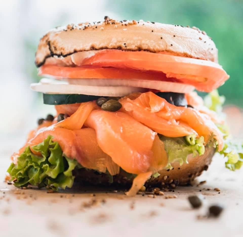 Nova Lox Sandwich